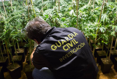 spain guardia civil cannabis
